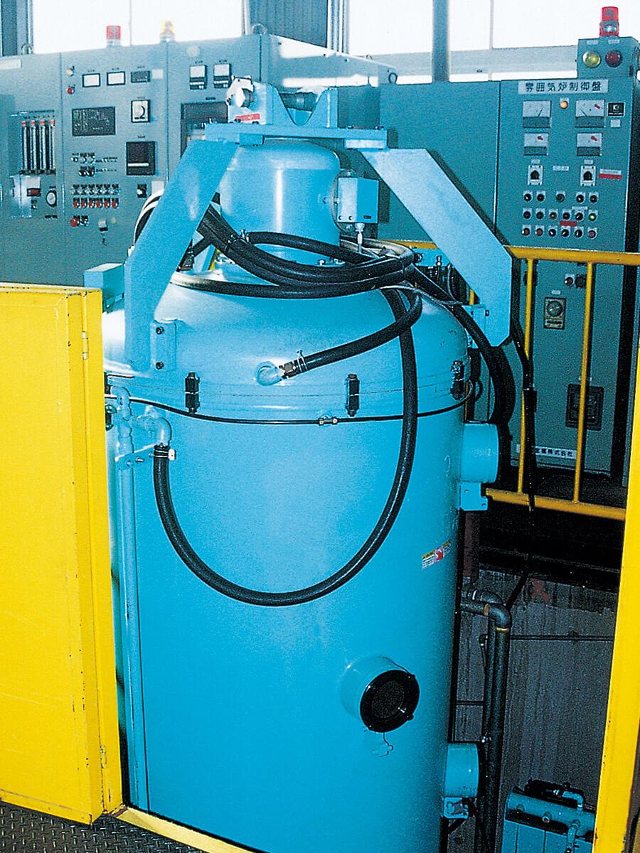 DCプラズマ窒化炉