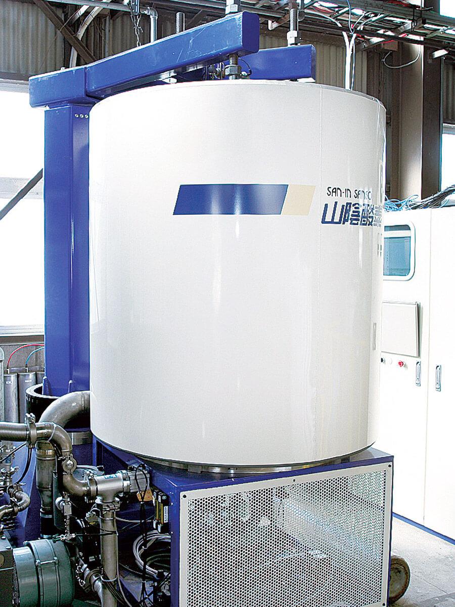 パルスプラズマ窒化炉